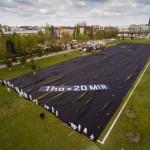 Aktion zur Bodenvernichtung in Berlin