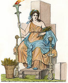 Bild: Göttin CERES, Pompeii